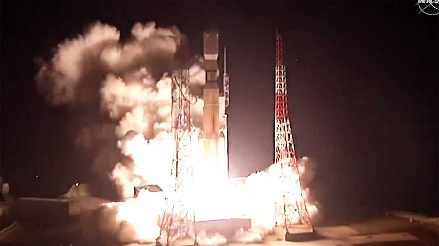 Japan's HTV-8 cargo craft launches on time