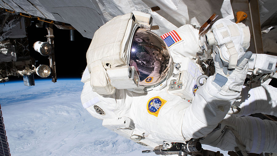 NASA astronaut and spacewalker Andrew Morgan