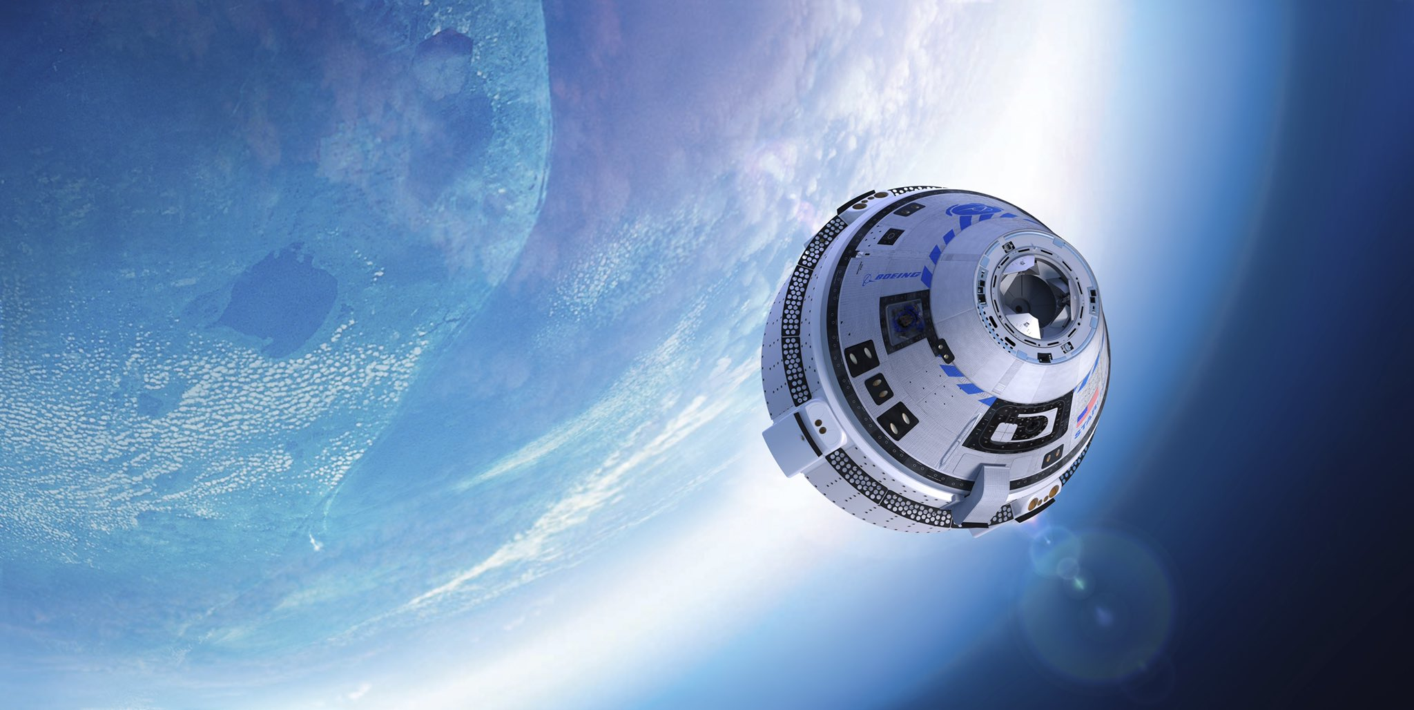 Boeing's CST-100 Starliner spacecraft