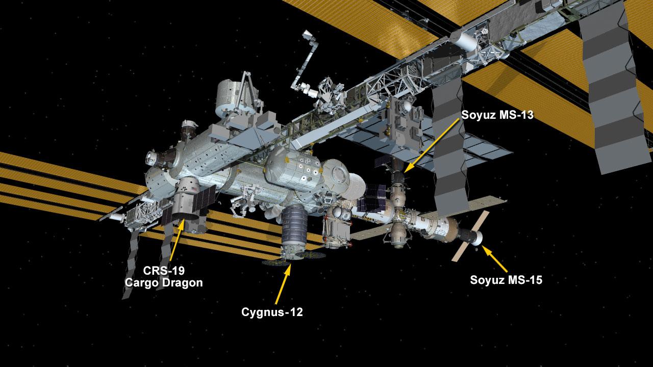 Dec. 8, 2019: International Space Station Configuration