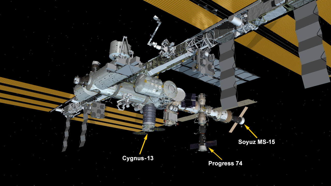 Feb. 18, 2020: International Space Station Configuration