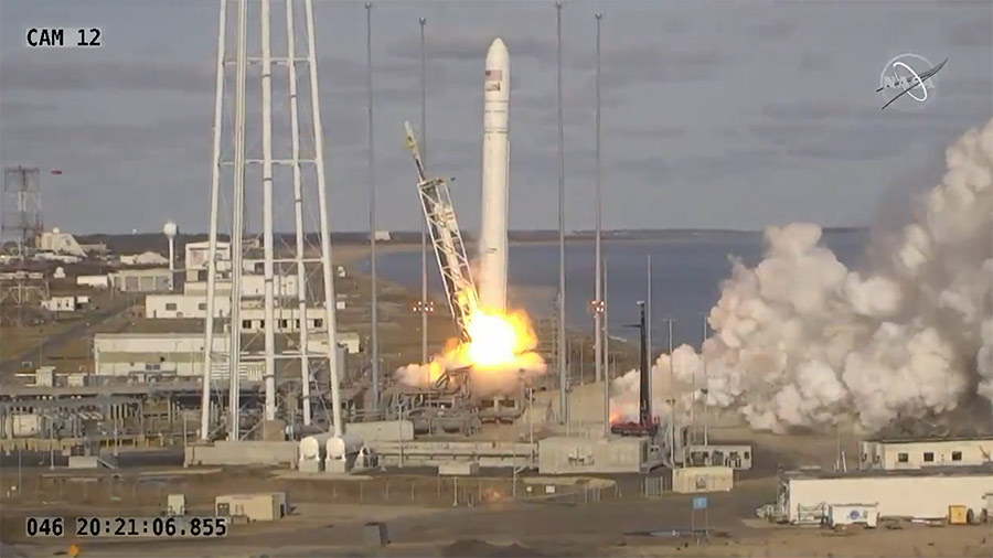 Northrop Grumman's Cygnus resupply spacecraft launches on time