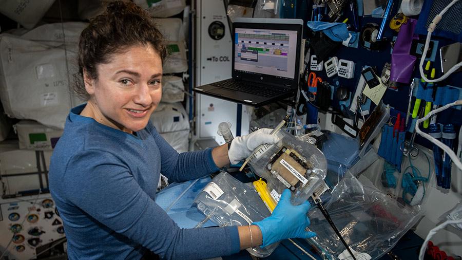 Expedition 62 Flight Engineer Jessica Meir