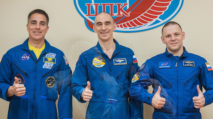 Expedition 63 crewmembers