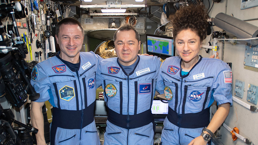 Expedition 62 crewmembers