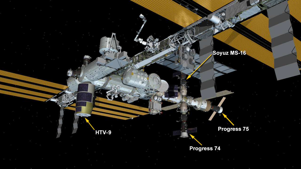 May 25, 2020: International Space Station Configuration