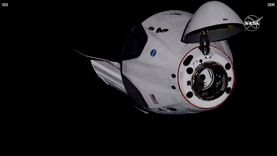 The SpaceX Crew Dragon