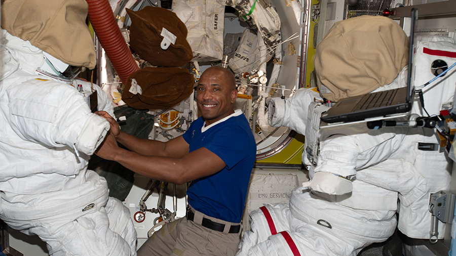 Human Research, Technology Science as Spacesuit Work Wraps Up
