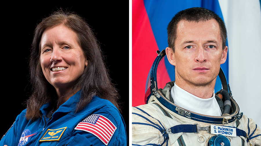 NASA astronaut Shannon Walker will assume command of the station from Roscosmos cosmonaut Sergey Ryzhikov on Thursday afternoon.