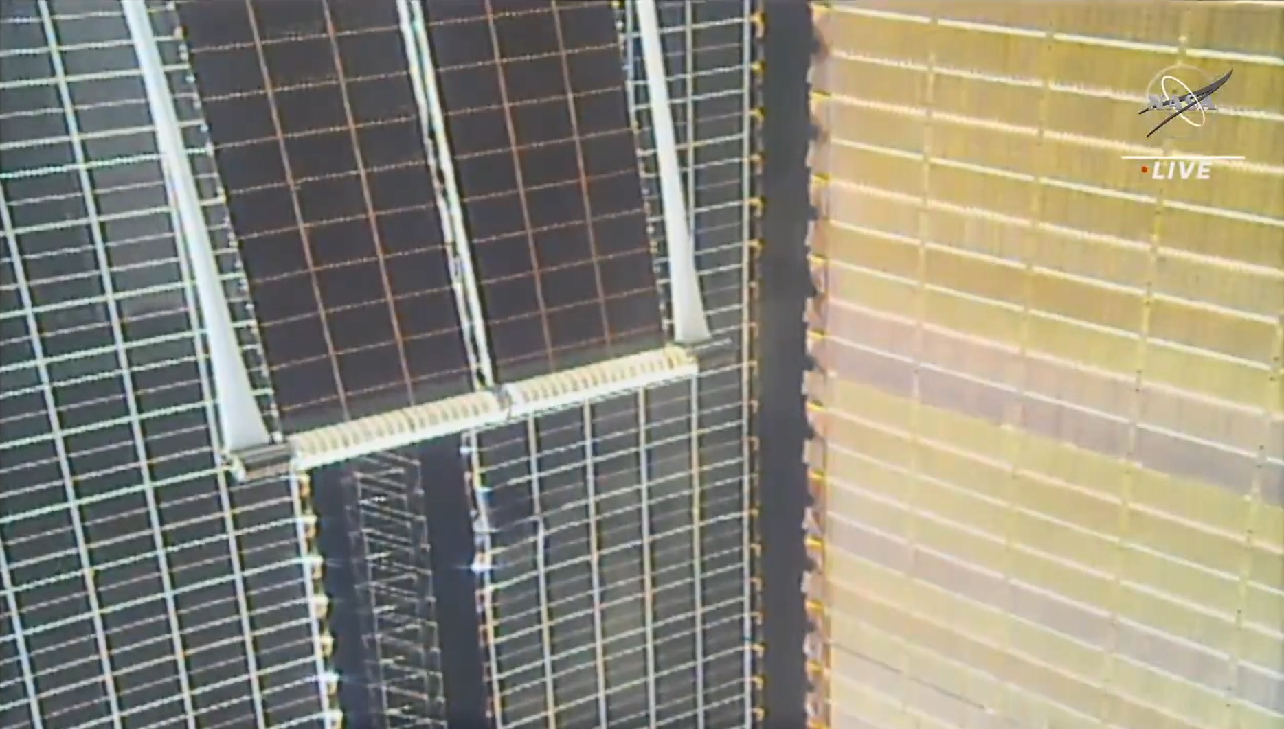 The new ISS Roll-Out Solar Array (iROSA) were successfully deployed in a process that took about 10 minutes.