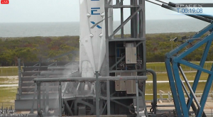 SpaceX-3 on pad
