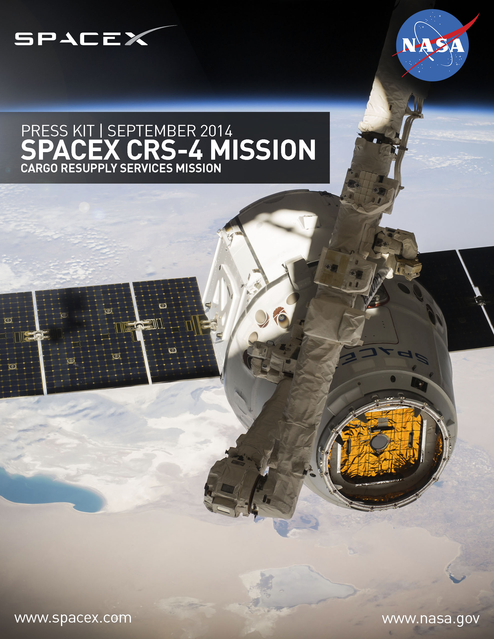 spacex crs 4 logo - photo #23