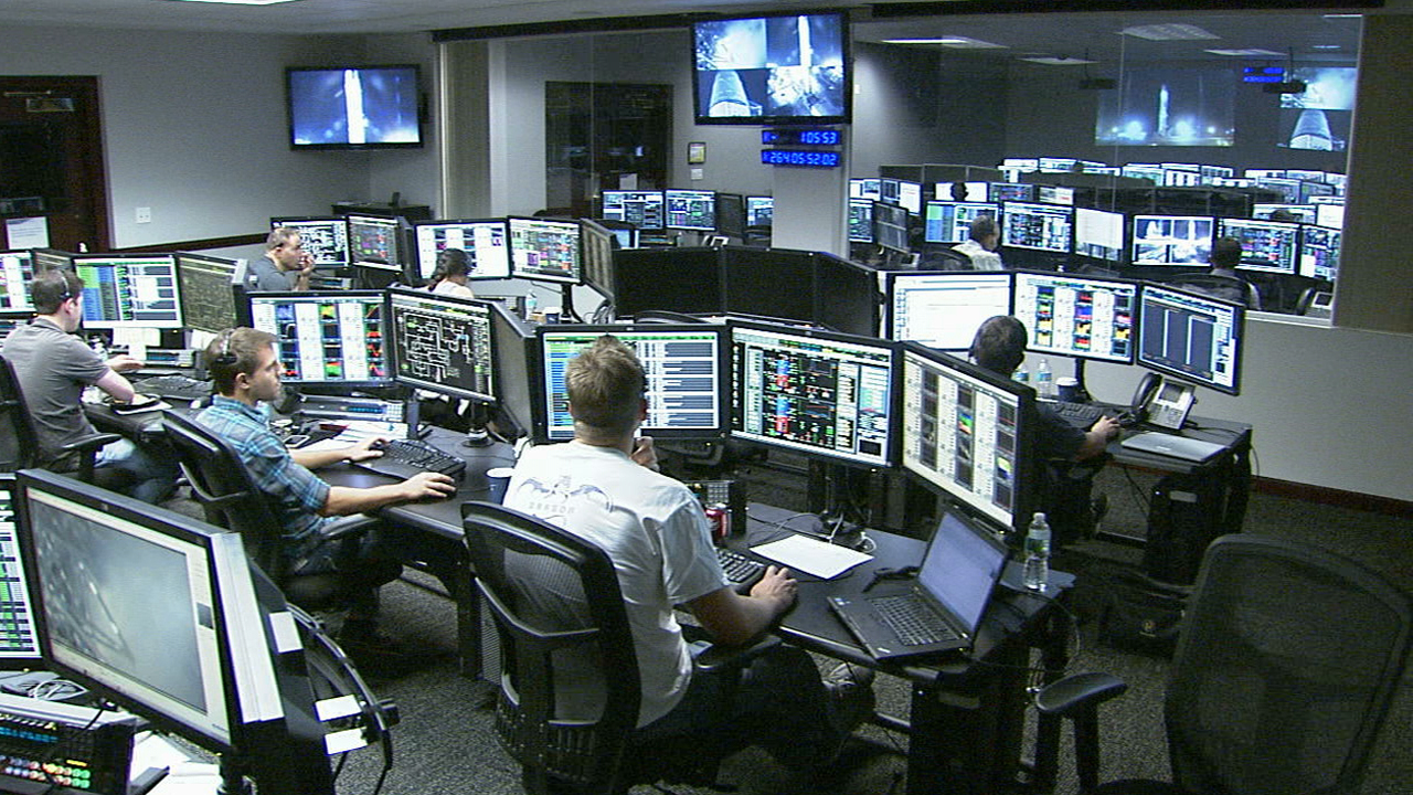 spacex launch control center - photo #6