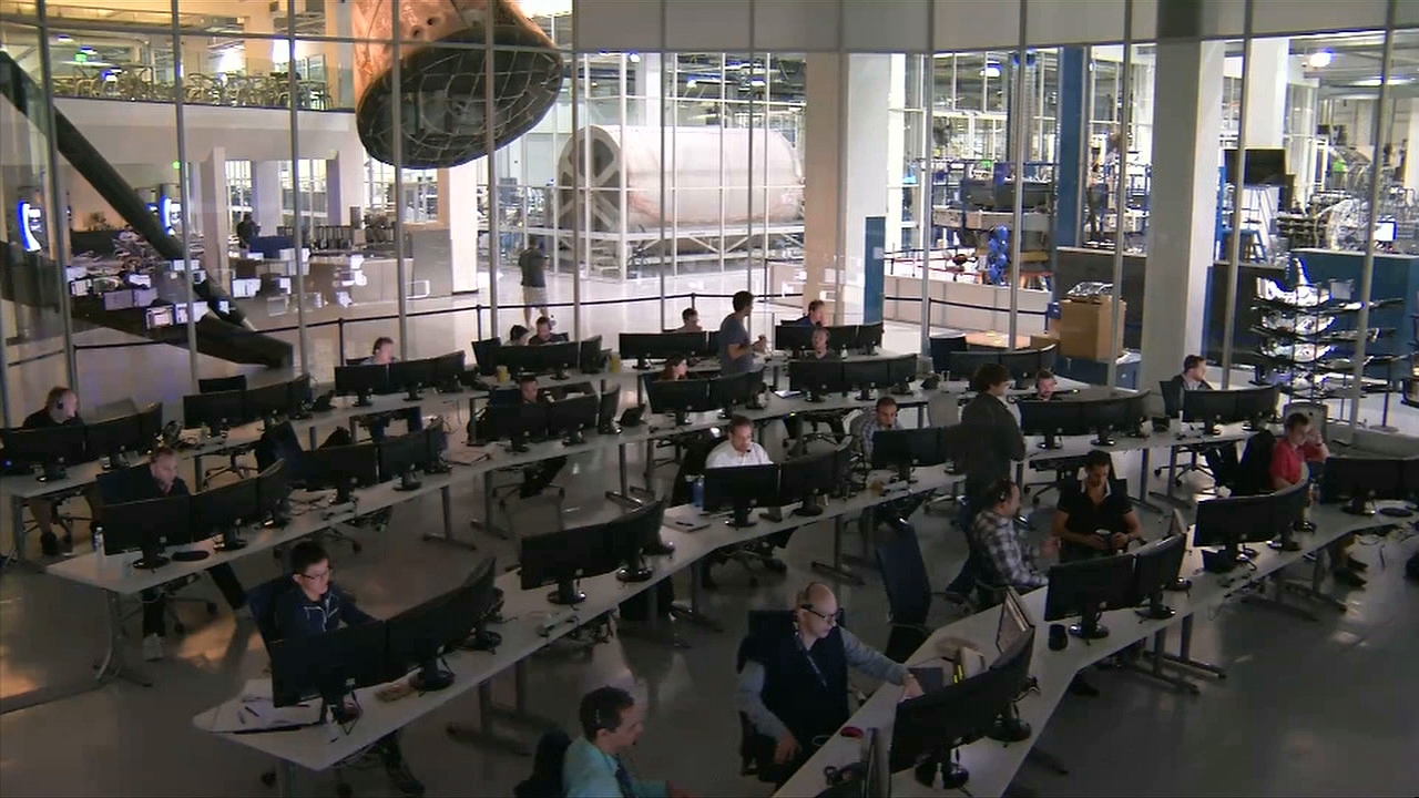 spacex launch control center - photo #7