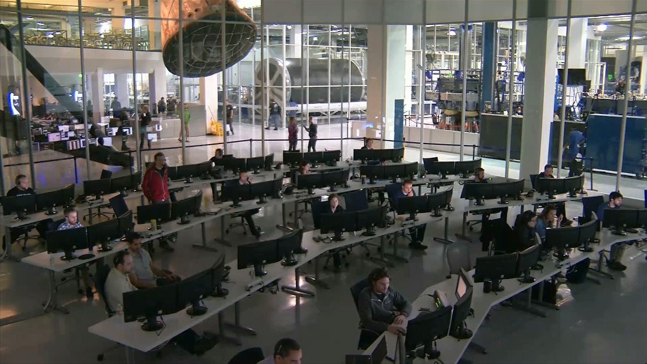 spacex launch control center - photo #17