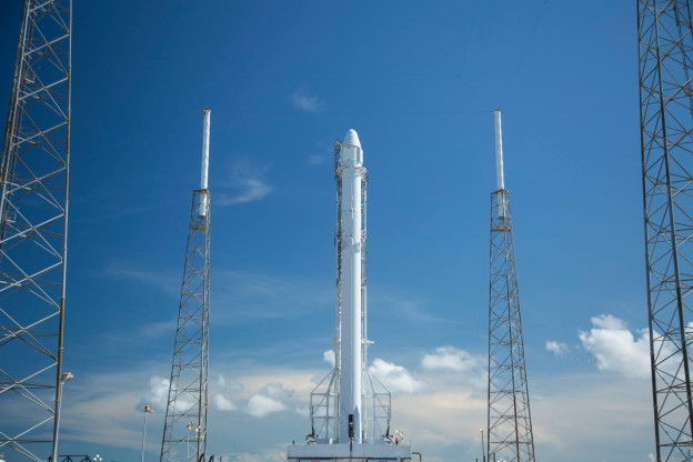 Falcon 9 on Track for 12:45 A.M. EDT Liftoff