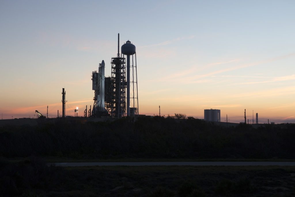 SpaceX CRS-10 at Pad 39A
