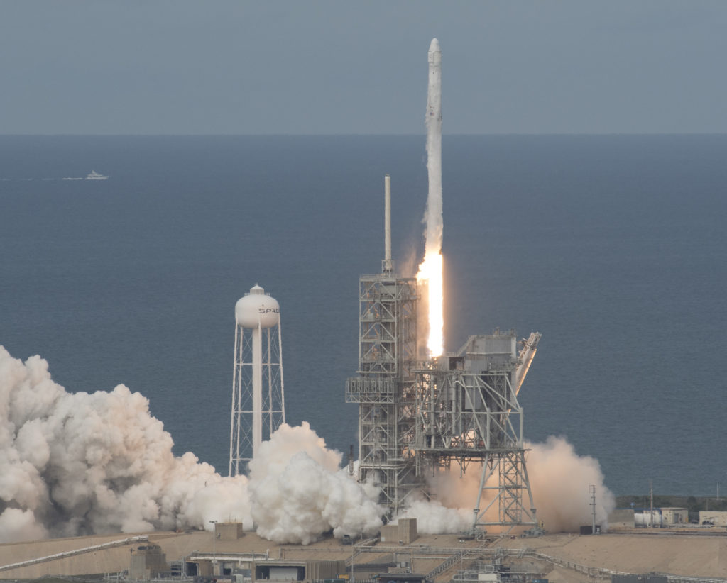 Liftoff of SpaceX CRS-11 in June 2017.