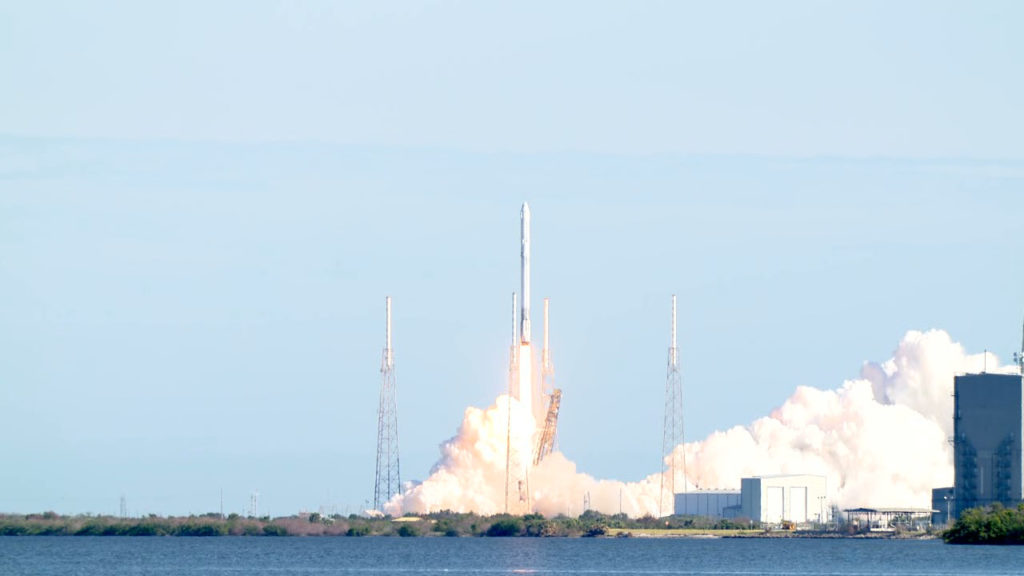 A SpaceX Falcon 9 rocket launches Dec. 15 at 10:36 a.m. EST from CCAFS.