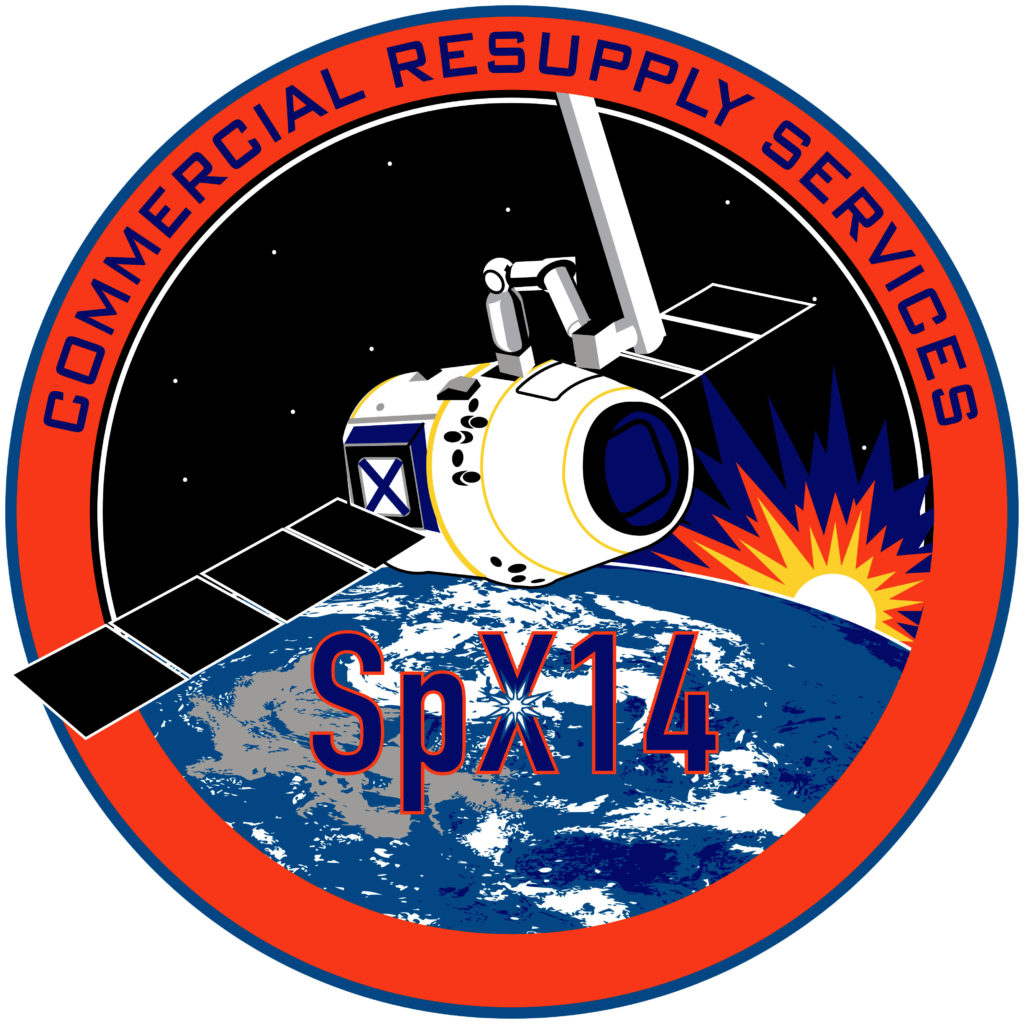 Emblem for SpaceX CRS-14