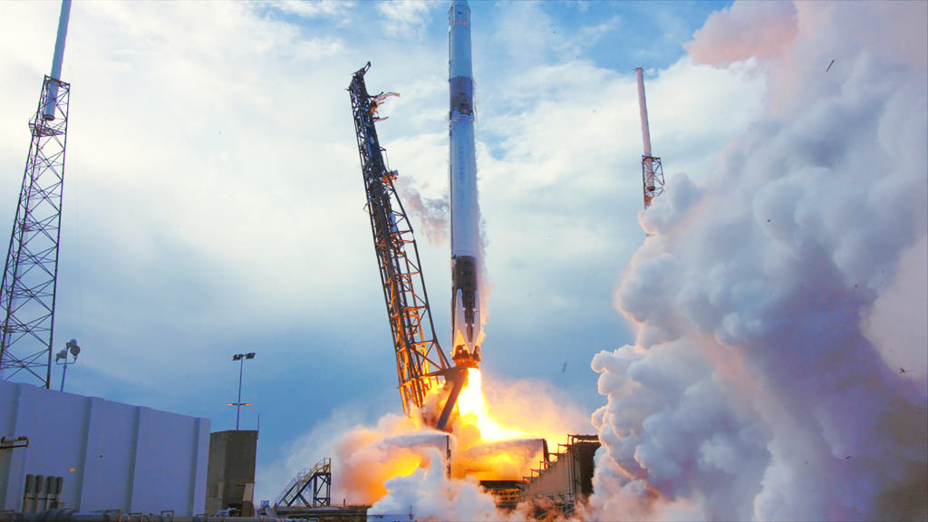 Liftoff of SpaceX CRS-14