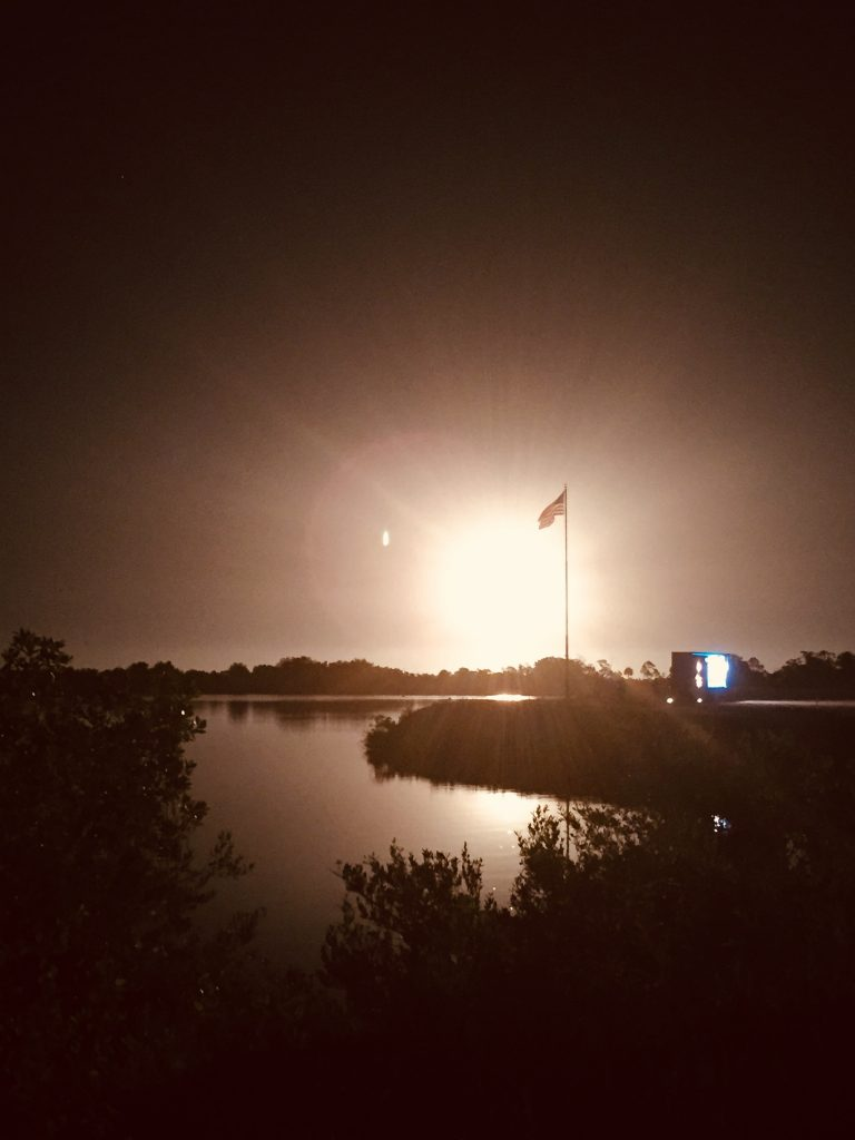 The two-stage Falcon 9 launch vehicle lifts off Space Launch Complex 40 at Cape Canaveral Air Force Station carrying the SpaceX's Dragon resupply spacecraft to the International Space Station. Liftoff was at 2:48 a.m. EDT, May 4, 2019. Photo credit: NASA/Glenn Benson