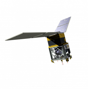 A rendering of NASA's Green Propellant Infusion Mission (GPIM), one of four agency payloads launching on the Department of Defense's Space Test Program-2 (STP-2) mission.