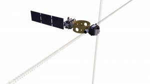 A rendering of NASA's Space Environment Testbeds (SET), one of four agency payloads launching on the Department of Defense's Space Test Program-2 (STP-2) mission.