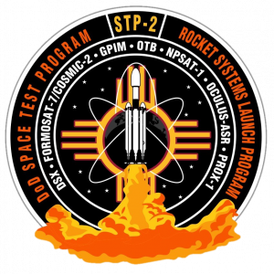 STP-2 mission patch