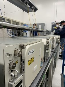 A team worked throughout the early morning hours of Thursday, Jan. 14, 2020, at the Space Station Processing Facility at NASA's Kennedy Space Center to process cargo returning from space on the CRS-21 upgraded Dragon and get it back in the hands of researchers.