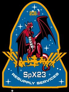CRS-23 mission patch
