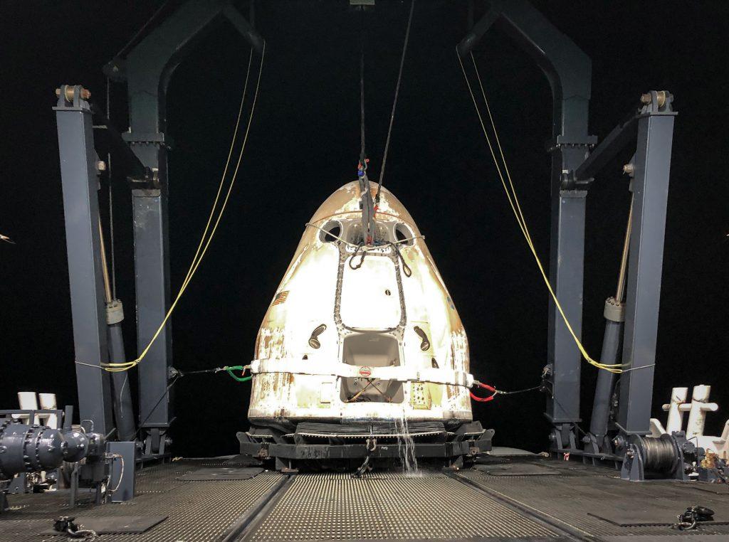 SpaceX Cargo Dragon spacecraft