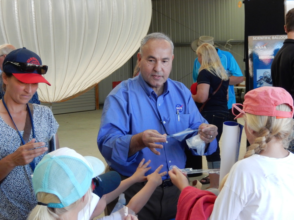 Balloon Program conducts outreach at Warbirds Airshow