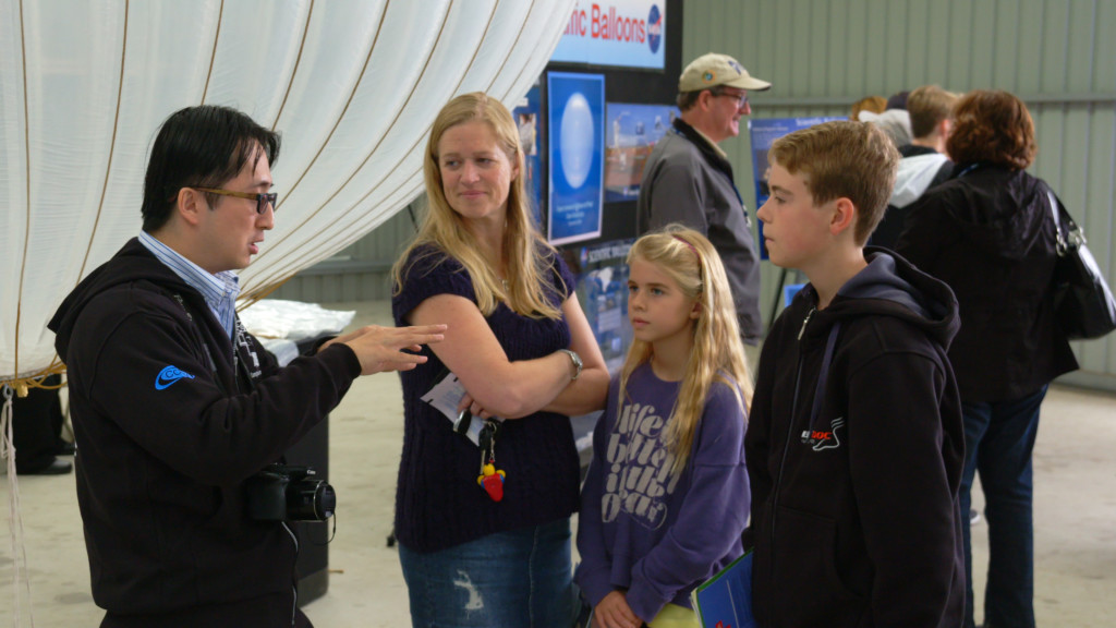 COSI Team at Wanaka Airshow