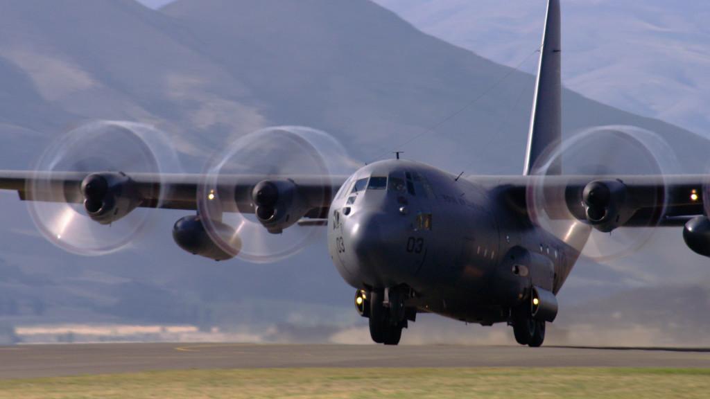 C-130 at Wanaka Airshow