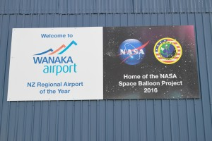 Wanaka Airport Sign
