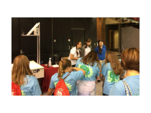 DEVELOP Participants at girls in STEM Event