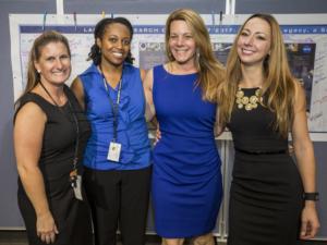 From left to right: Kimberly Brush, Yolanda Shea, Christie Funk, Denisse Aranda