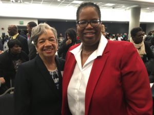Dr. Christine Darden and Dr. Stephanie Adams