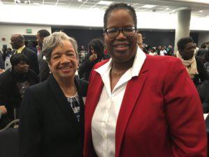 Dr. Christine Darden and Dr. Stephanie Adams