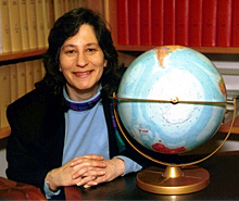 Susan at her office at NOAA in Boulder, Colorado