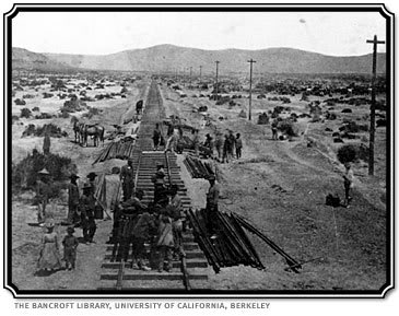 Building the Transcontinental Railroad in 1868