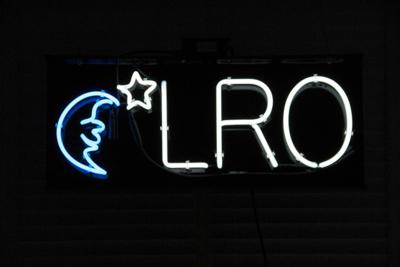 LRO Neon sign.