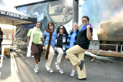 The women of NASA Marshall Spac Flight Center.