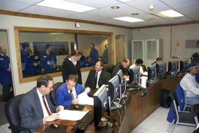 Abort Motor test firing Control Room.