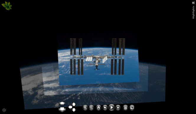 International Space Station Photosynths