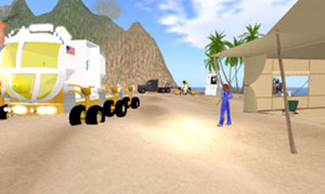 Desert RATS in Second Life