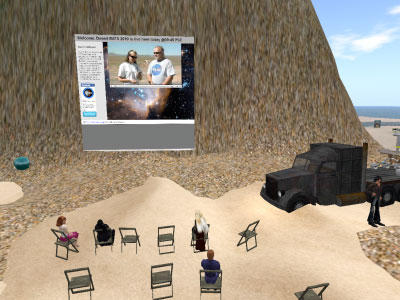 NASA eEd Island in Second Life