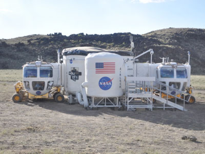 Rovers docked