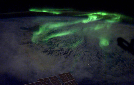 Aurora over Earth